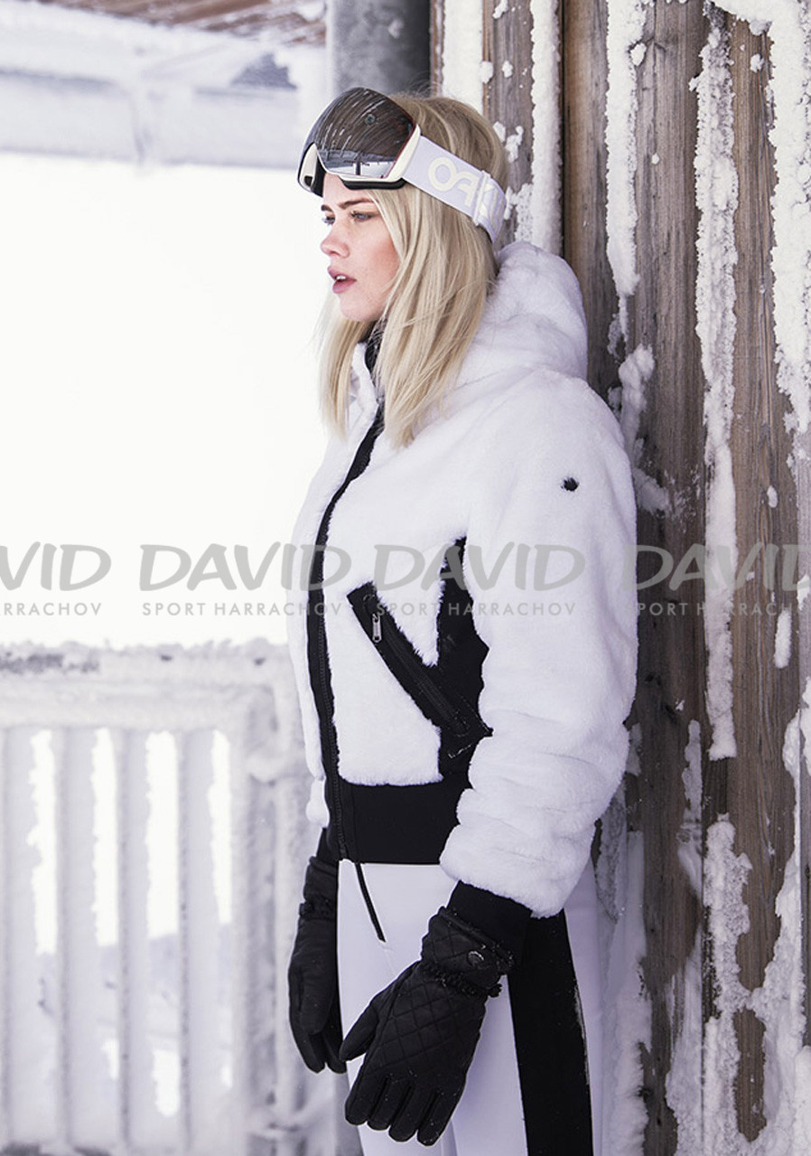 Dámska bunda GOLDBERGH 0610173 AKEMI JACKET WHITE