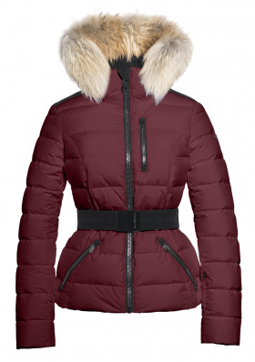 Dámska bunda Goldbergh Vita Fur Jacket (real Raccoon) Grappa