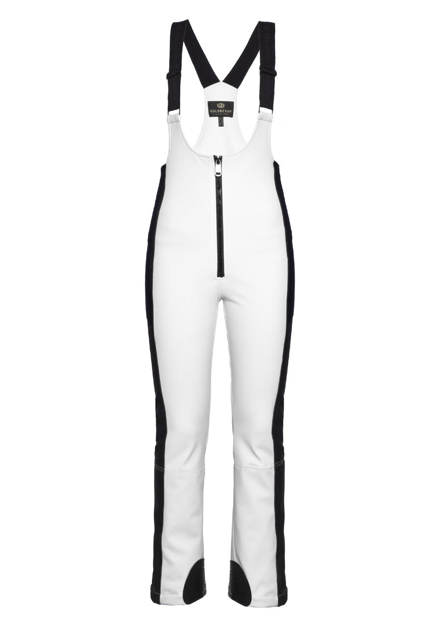 5a4a896c47 detail Dámske lyžiarske nohavice Goldbergh Koto biele