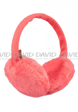 detail BARTS PLUSH EARMUFFS BLUSH