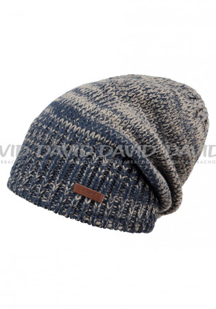 detail Barts Brighton Beanie blue