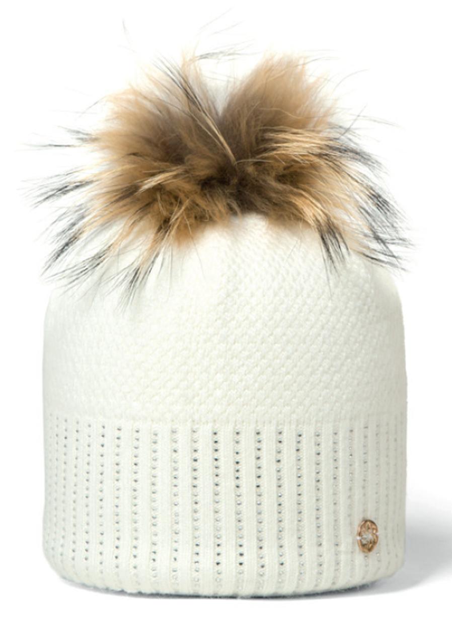 7aeb0ea12 Dámska pletená čiapka Granadilla Sparkle Beanie Chic biela | David ...