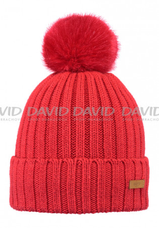 detail Čiapky Barts LINDA BEANIE RED