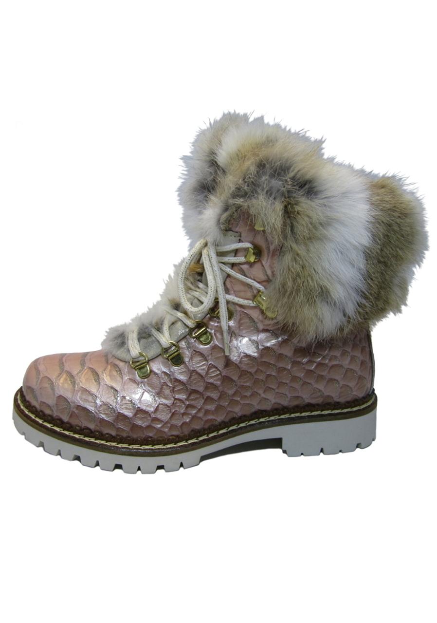 07101159c91b detail Dámske zimné topánky Nis 1515404A 54 Scarponcino Pelle Vitello