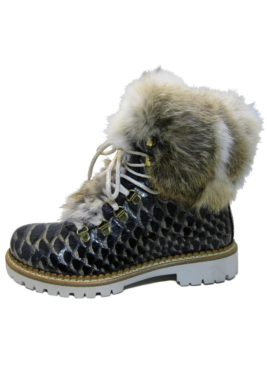 9d23df3f257e detail Dámske zimné topánky Nis 1515404A 57 Scarponcino Pelle Vitello