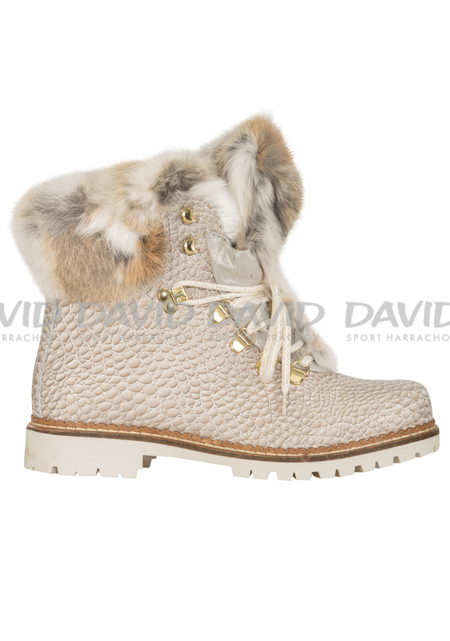 30a4e5b63b1e detail Dámske zimné topánky Nis 1515404A 62 Scarponcino Pelle Vitello