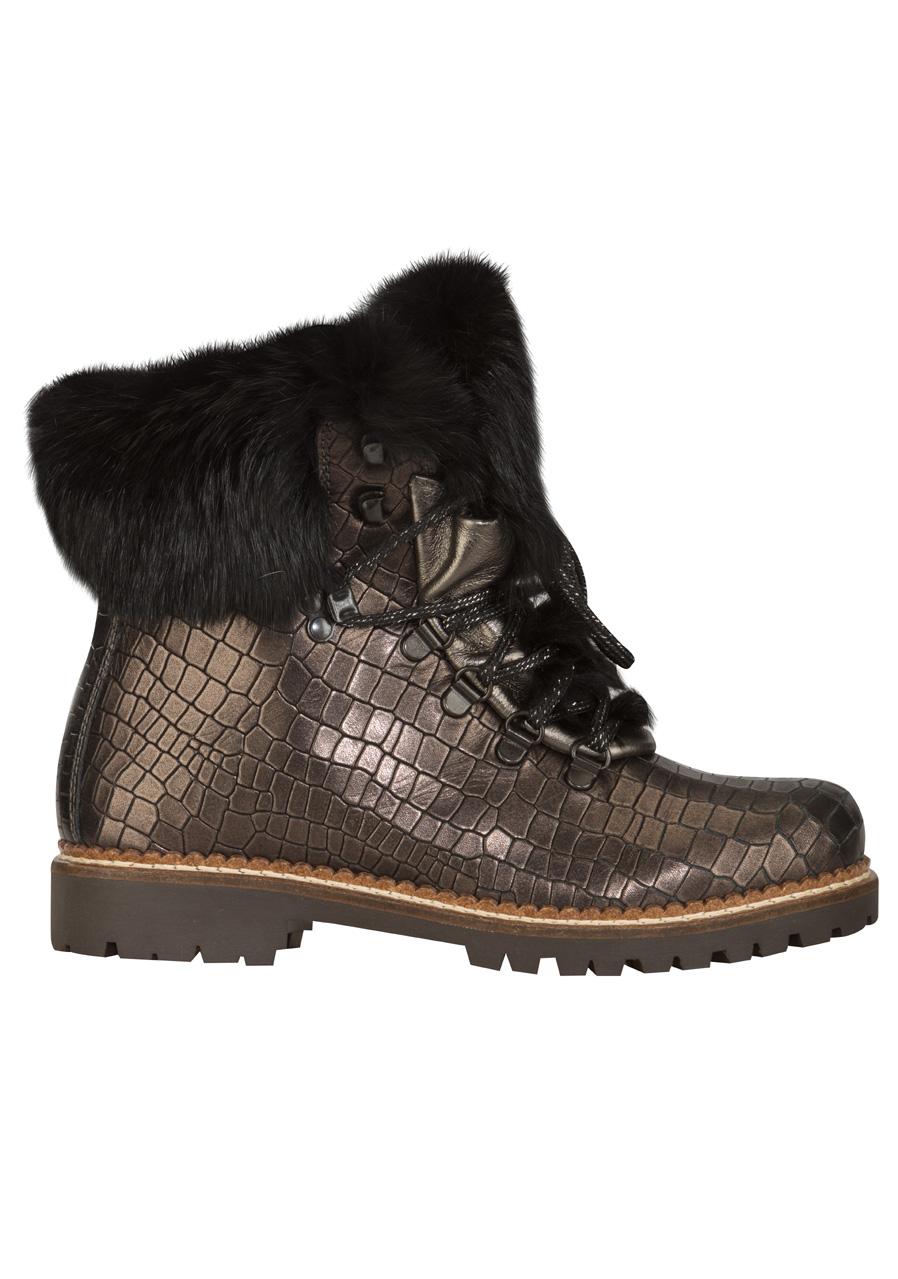 768938ed7e67 detail Dámske zimné topánky Nis 1515404A 41 Scarponcino Pelle Vitello