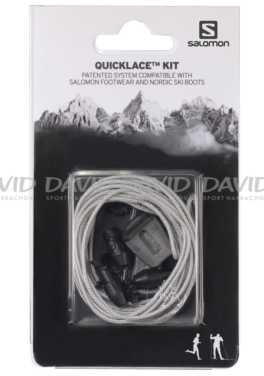náhľad Salomon Quicklace Kit Grey