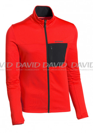 detail Atomic M Savor Fleece Jacket Red/Black