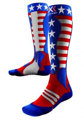 42bb38fae40 Podkolienky X-Socks ski PATRIOT USA unisex