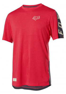 Cyklo dres Fox Ranger Dr Ss Fox Jersey Bright Red