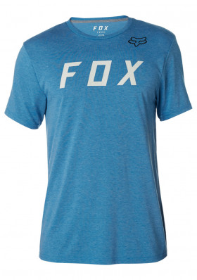 Fox Grizzled SS Tech Tee Heather Blue