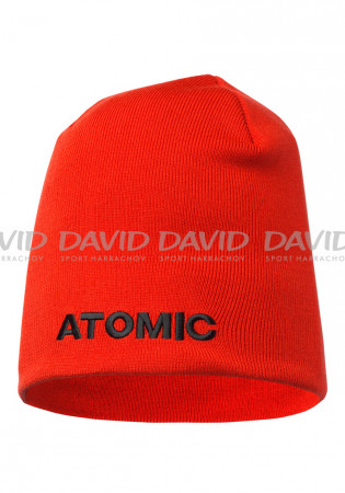 detail Atomic Alps Beanie Bright Red