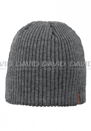 detail Barts Wilbert Beanie dark heather