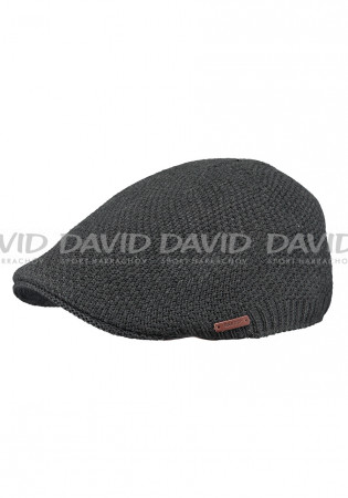 detail Barts Benjamik Cap Dark Heather