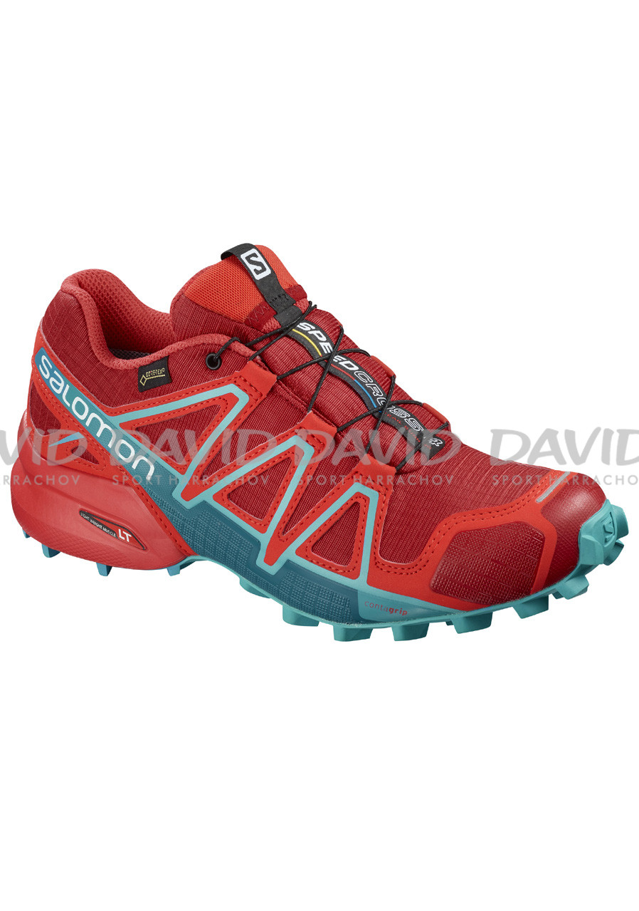 Salomon Speedcross 4 Gtx® W Barbados C/Poppy Red