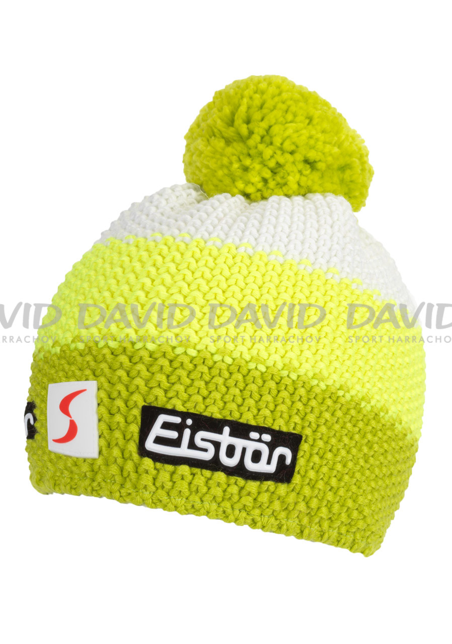 2cf4b3656 Detská zimná čiapka Eisbär Star Neon Pompon MÜ SP kids 673 | David ...