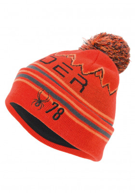 Spyder 197152-620 -BOYS ICEBOX-Hat-volcano