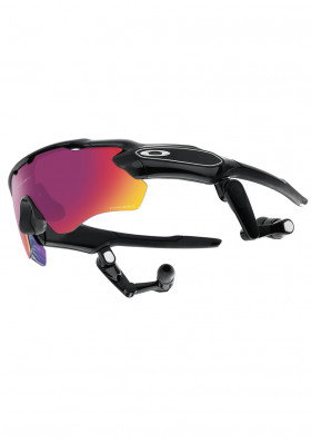 OAKLEY 9333-01 Radar Pace Polished Black Prizm Road Clear 928fc5deb51