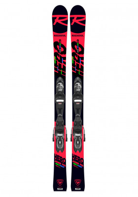 Rossignol-Hero Jr Multi-event Xp Jr (RAJBB02)+Xpress 7 GW B83 bk(FCJD050)-set