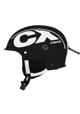 Zjazdová prilba Casco CX-3 Icecube čierna   biela 3660ab9c646