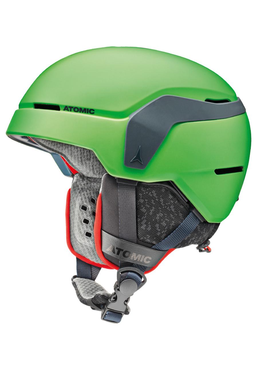 Detská lyžiarska prilba Atomic Count Jr zelená  d26430a3c71