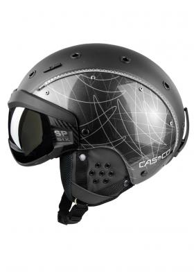 Dámska lyžiarska prilba Casco SP-6 Visor Limited Crystal 5c94c36c4d7