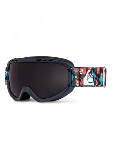 detail Detské lyžiarske okuliare Quiksilver Flake čierne c4b28875465
