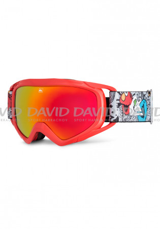 detail Detské lyžiarske okuliare Quiksilver Eagle 2.0 Red b81ebd1c142