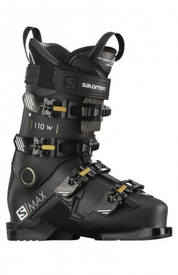 Salomon S/MAX 110 W Black/gold Glow/b