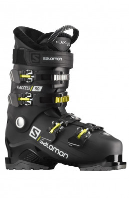 Salomon X ACCESS 80 Black/acid Gree/W