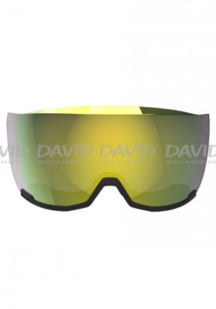 detail Atomic Visor ID Stereo Lens Yellow