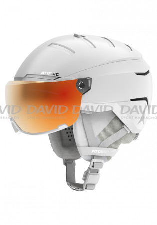 detail Atomic SAVOR GT AMID VISOR HD White