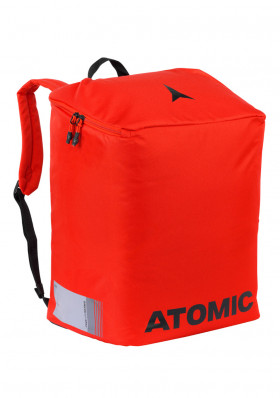 Atomic Boot & Helmet Pack Bright Red/Black