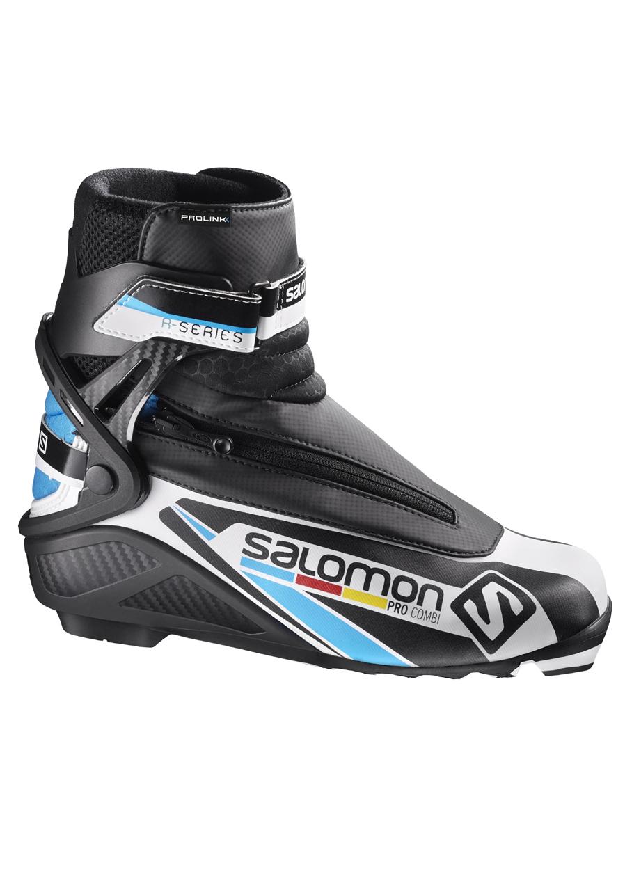 93485b186a661 Topánky na bežky SALOMON PRO COMBI PROLINK 17/18 | David sport Harrachov