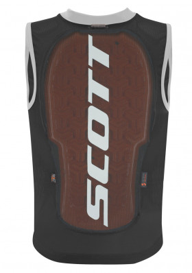 SCOTT VEST PROTECTOR JR ACTIFIT PLUS BLACK/GREY