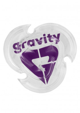 Stopa Gravity Heart Mat Clear/Violet