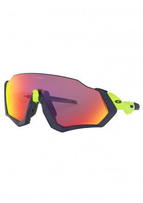 OAKLEY 9401-0537 Flight Jacket MttNvy/RetBrn w/ PRIZM Rd