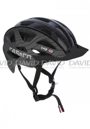 detail Casco Cuda Mountain Black-grey