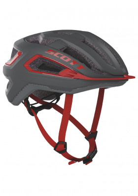 Cyklo helma Scott Helmet Arx (CE) Dark Grey/Red