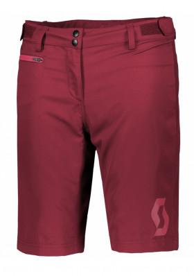 Scott SCO Shorts W's Trail 40 ls/fit w/pad tibetan red