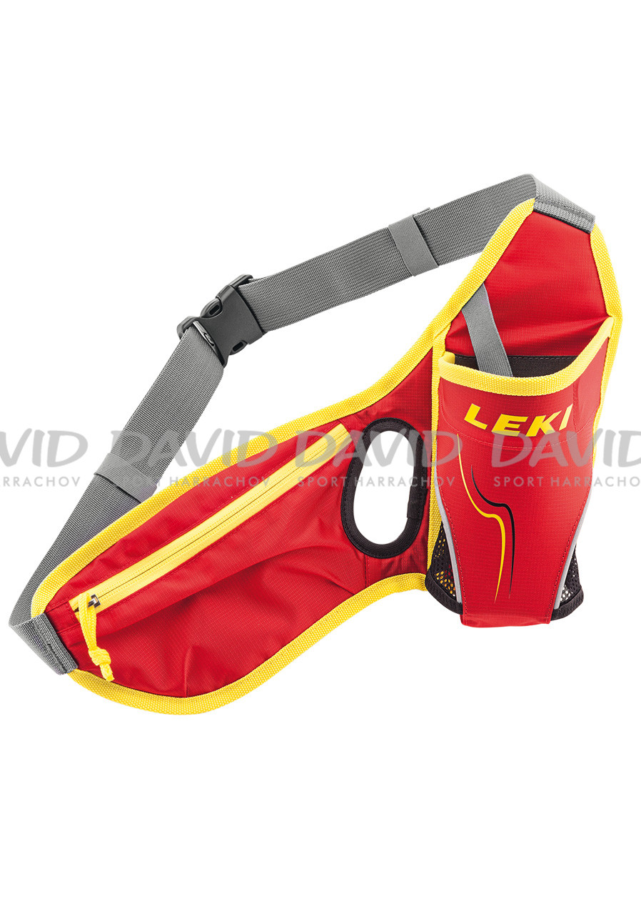 LEKI DRINKBELT LEDVINKA RED/NEONYELLOW