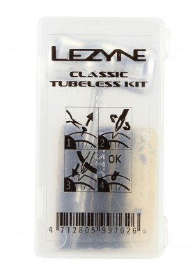 Sada Lezyne Classic Tubeless Kit Clear