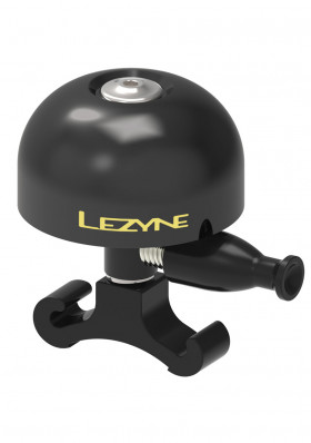 Lezyne Classic Brass Medium All Black Bell Black