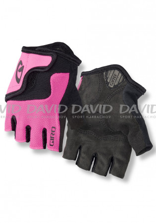 e2a571c5a Dětské cyklistické rukavice Giro Bravo Jr pink | David sport Harrachov