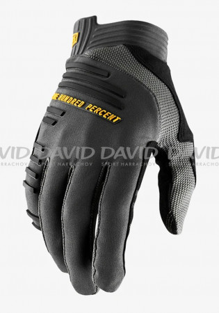 detail Cyklo rukavice 100% R-CORE Gloves Charcoal