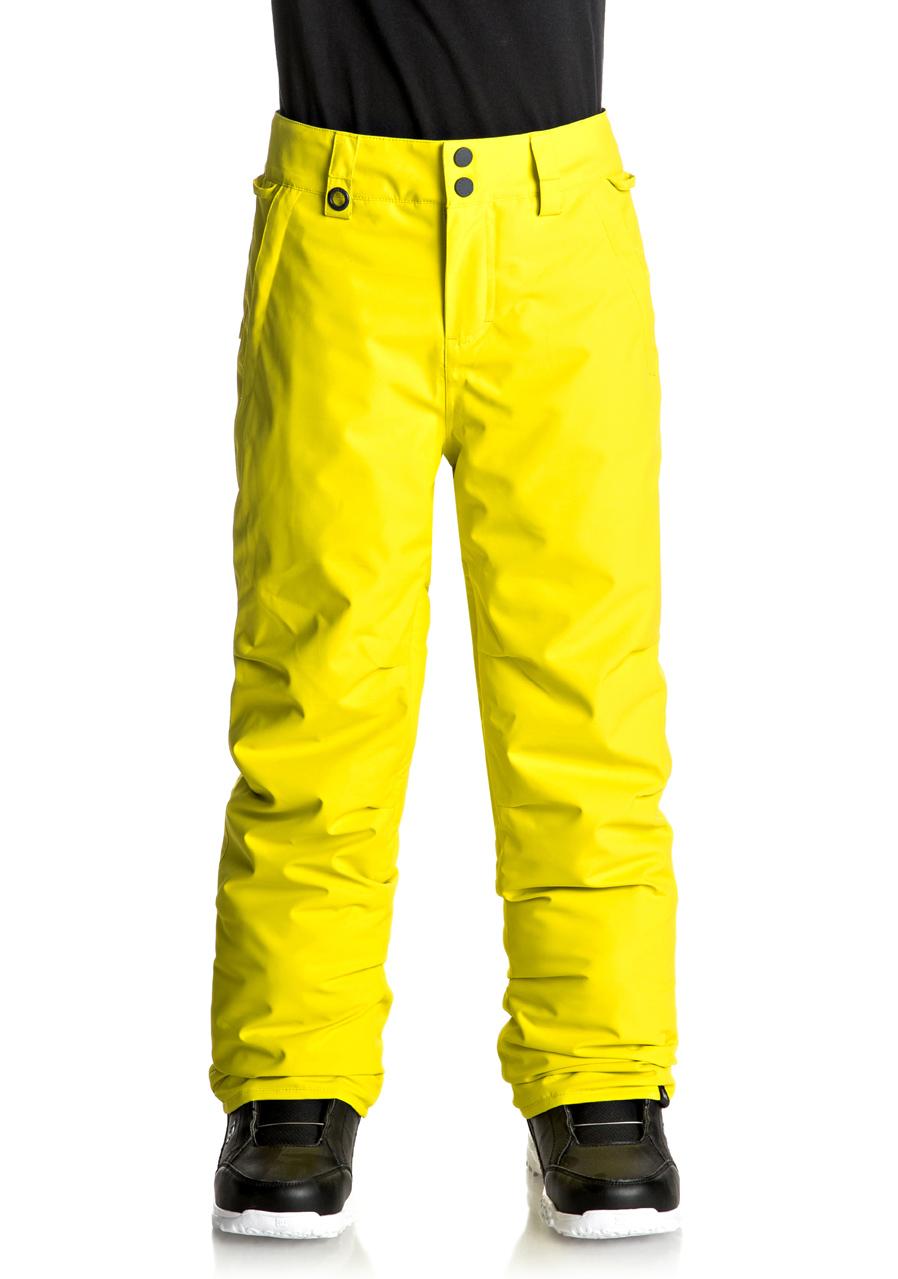 91799e52d detail Detské lyžiarske nohavice Quiksilver 17 EQBTP03013 Estate žlté