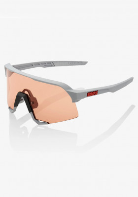 100% S3 - Soft Tact Stone Grey-Hiper Coral Lens