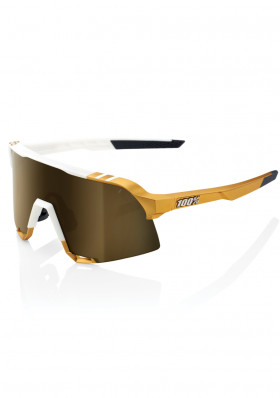 100% S3 - Peter Sagan LE White Gold - Soft Gold Mirror