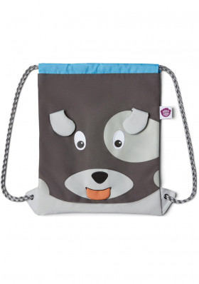 Affenzahn Kids Sportsbag Dog - grey